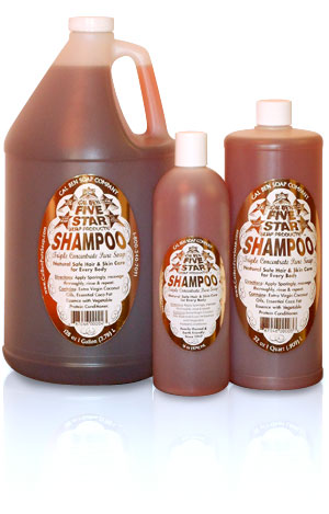 Five Star Shampoo Concentrate