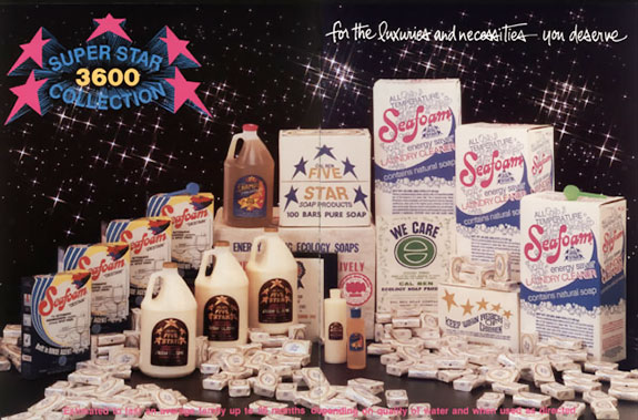 Cal Ben Super Star 3600 Soap Collection