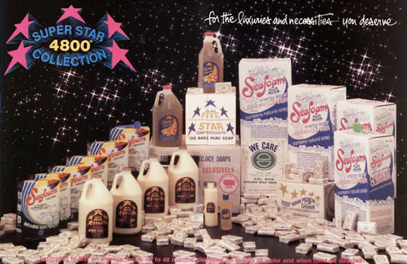 Cal Ben Super Star 4800 Soap Collection